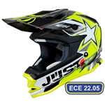 Hjälm Just1 J32 MotoX Yellow