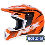 Hjälm FX-17 Holeshot Orange