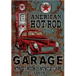 Dekal Vintage - American Hot Rod
